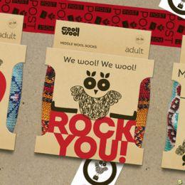 Cool Wool 纸质包装设计欣赏