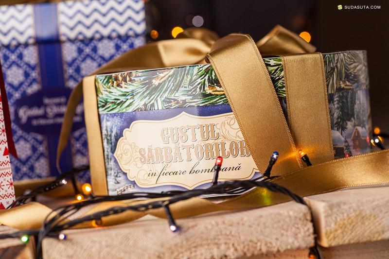Gustul Sarbatorilor 圣诞糖果包装设计欣赏