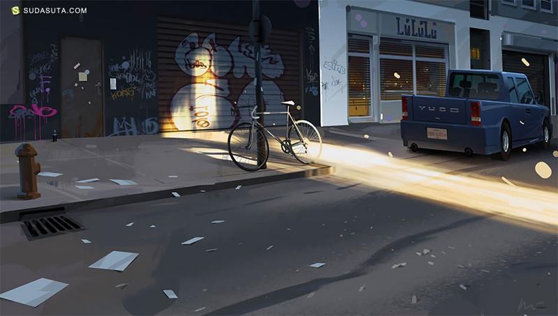 Michal Lisowski 概念插画欣赏
