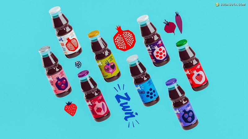 Pomegranate juice 包装设计欣赏
