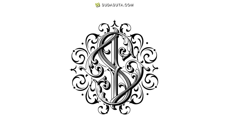 Victor Kevruh 手写花体字设计欣赏