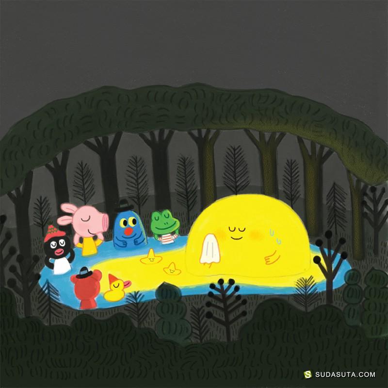 Kim Hyun 儿童插画欣赏