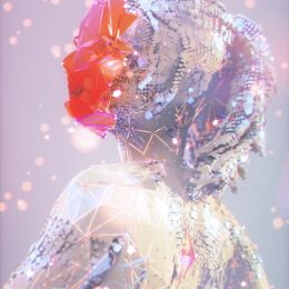Kirill Maksimchuk 钻石般闪耀的数字艺术作品