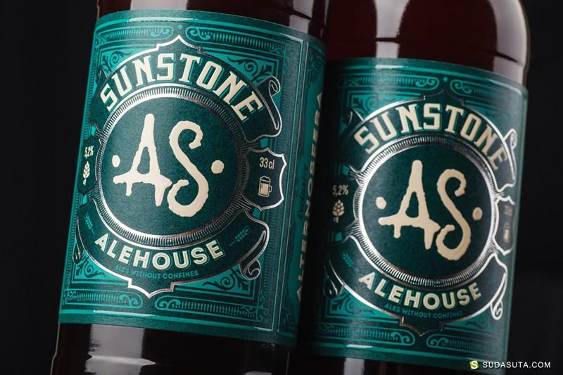 Sunstone Alehouse 包装设计欣赏