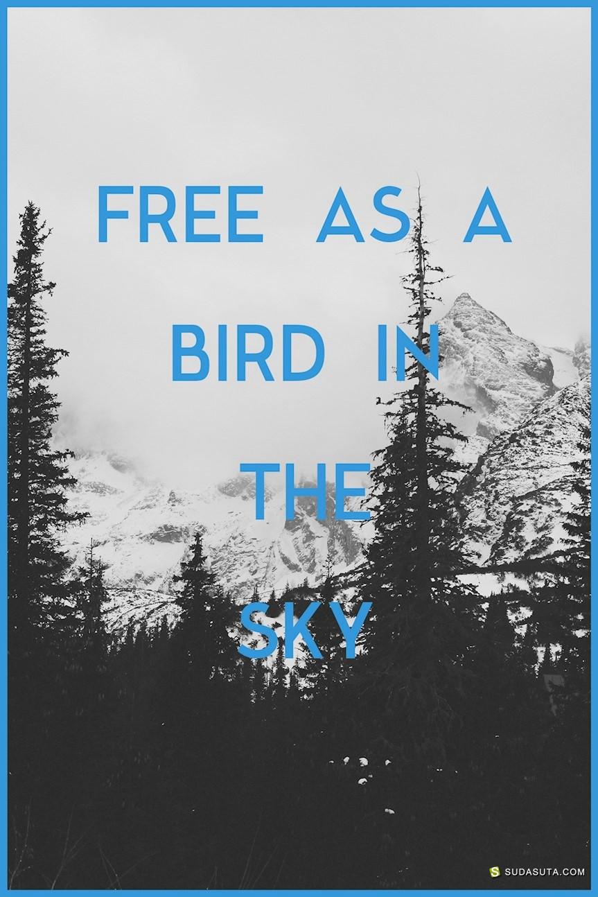 28个优雅美丽的无衬线字体免费下载