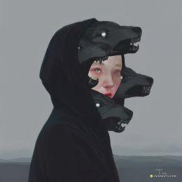 艺术家 Qian Tu 个性插画欣赏
