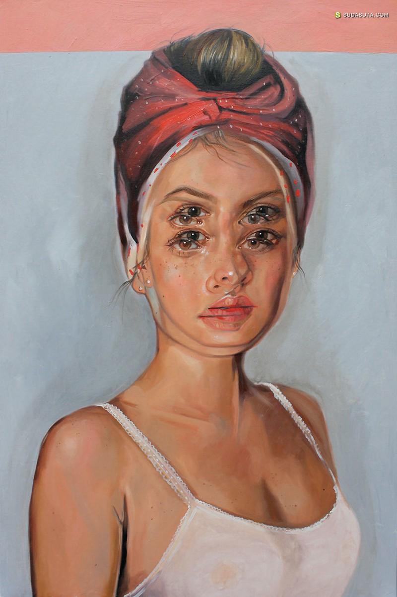 Alex Garant 超现实主义绘画艺术欣赏