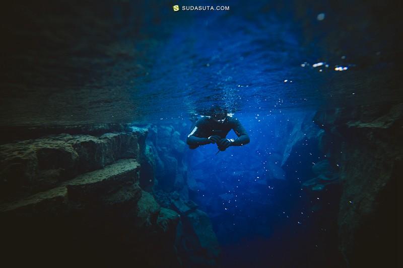 Alex Strohl 蓝色之光-北极星