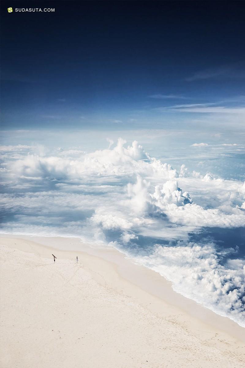 Laurent Rosset 在天空中摇曳