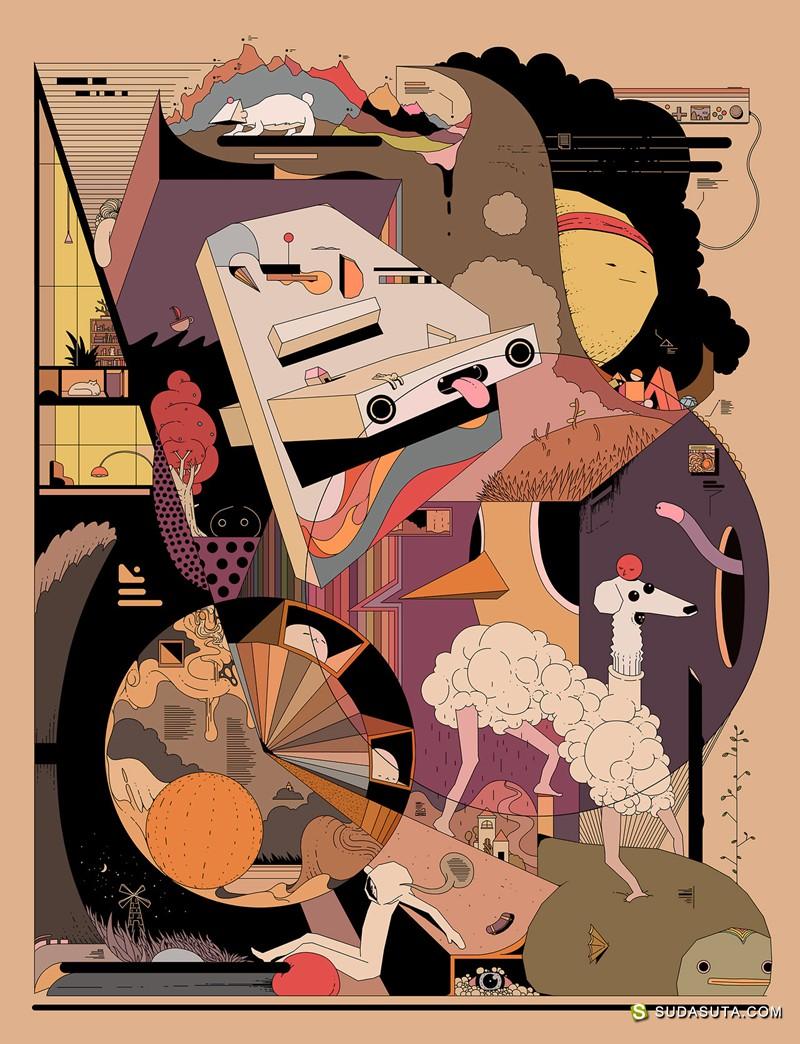 Ori Toor 不可思议的图形设计