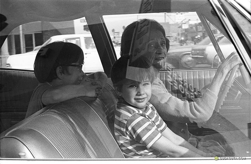 Mike Mandel 街拍 汽车中的人们