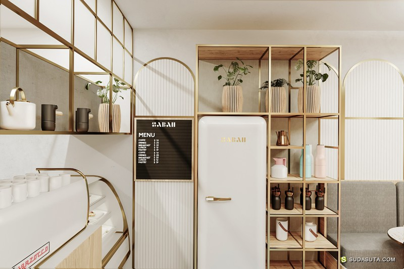 Sabah 店铺设计及视觉传达设计欣赏