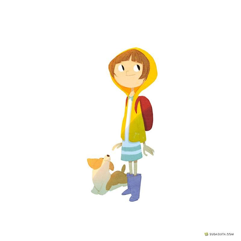 Seung Uk Hong 儿童插画欣赏
