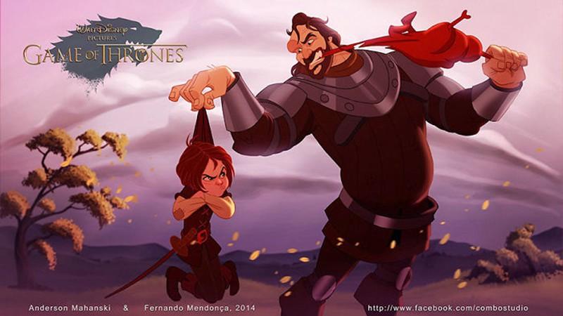 迪士尼新作《权力游戏》