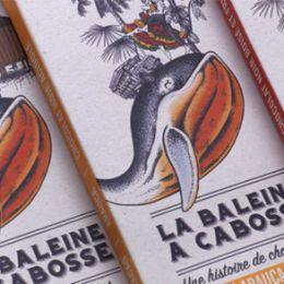 La Baleine à Cabosse 巧克力包装设计