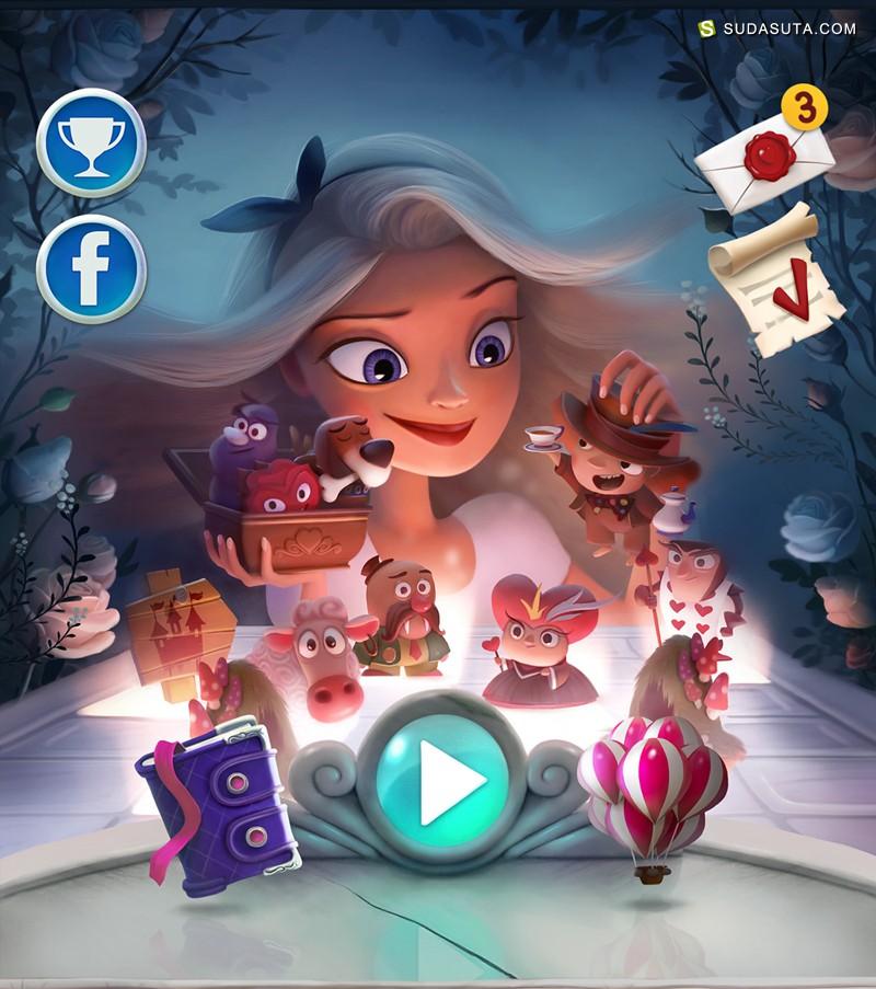 Gordei 游戏插画欣赏《Alice》