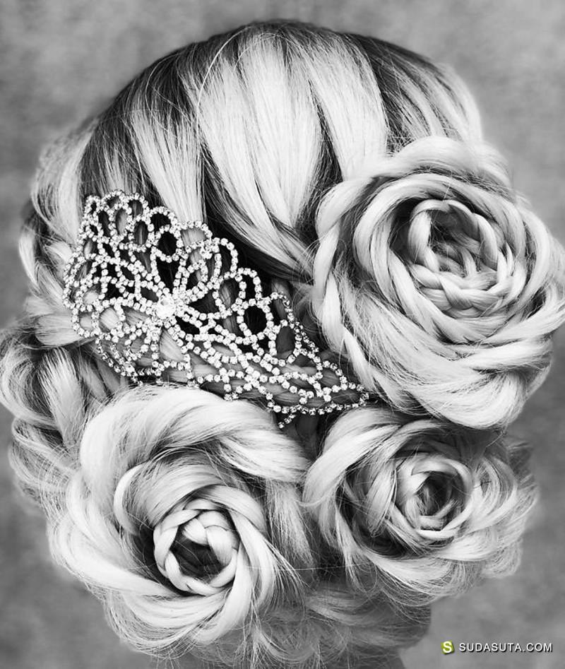 Alison Valsamis 公主的玫瑰花发饰
