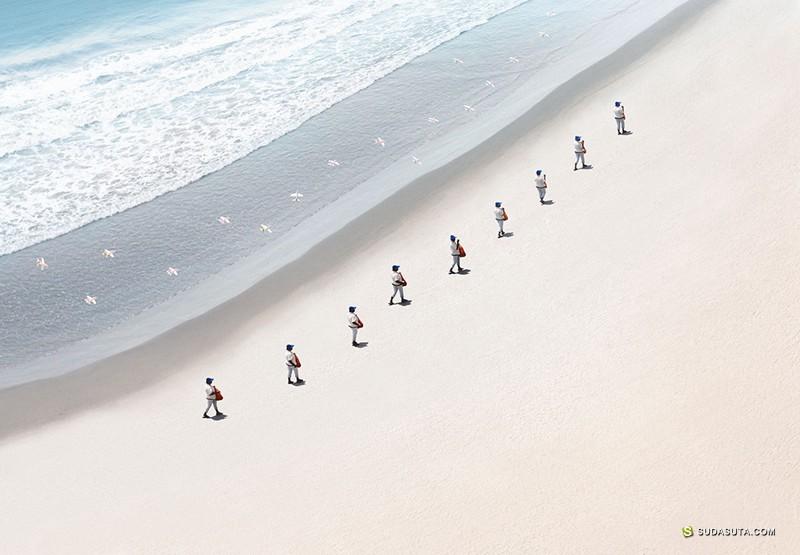 Felipe Bedoya 幽默有趣的照片合成作品