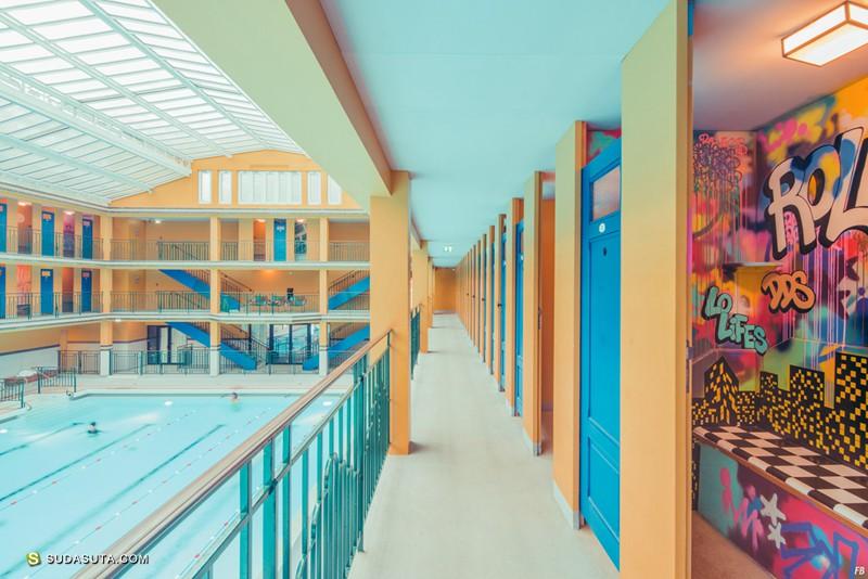 Franck Bohbot 建筑摄影作品《MOLITOR》