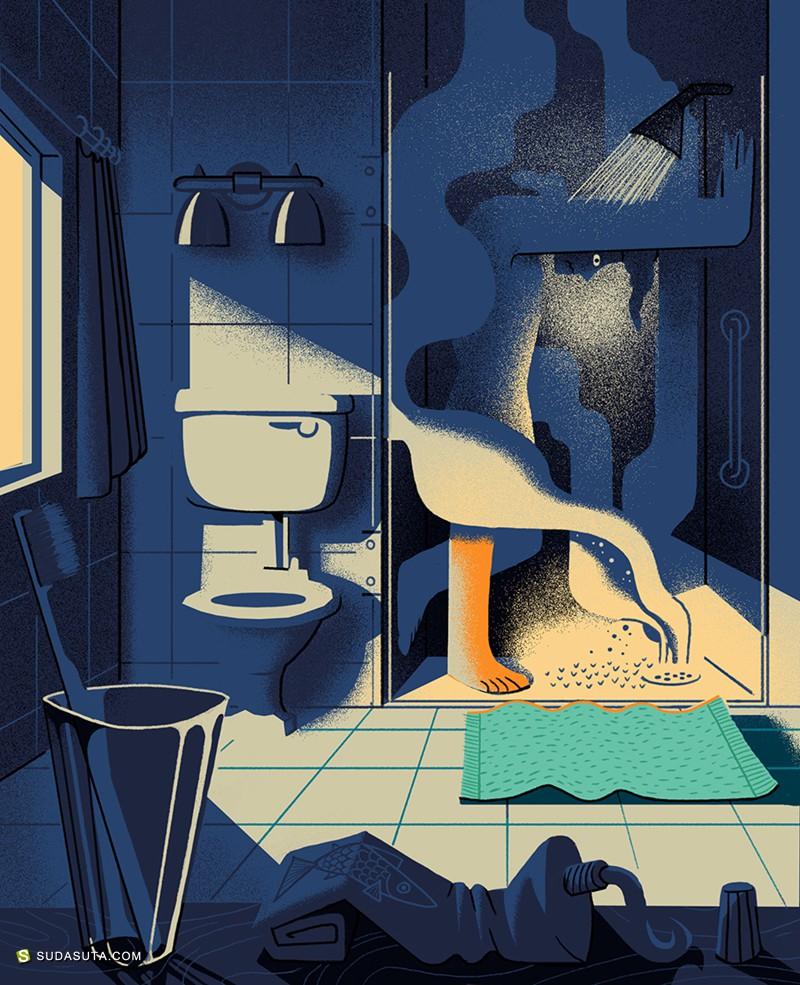 Gerhard van Wyk 商业插画欣赏