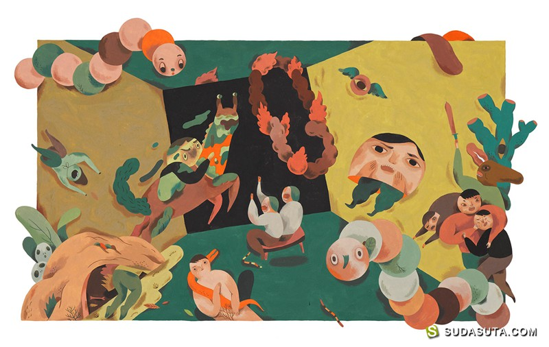 Inca Pan 关于歌曲的绘画