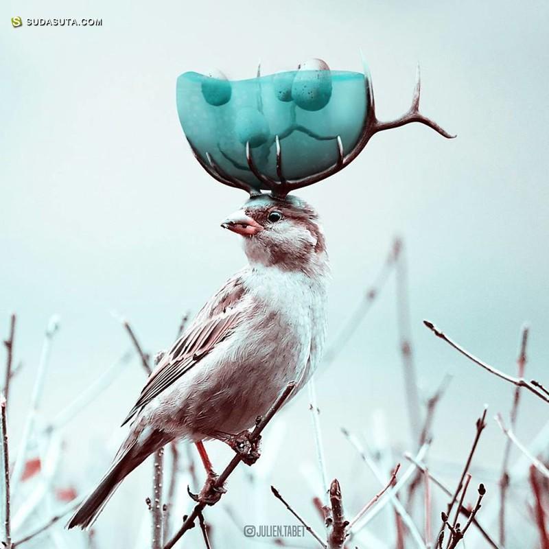 Julien Tabet 照片合成作品欣赏