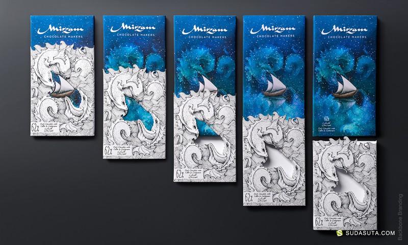 Mirzam 巧克力包装设计欣赏