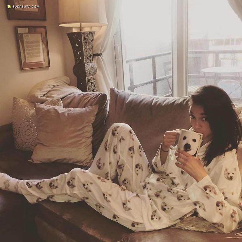 Patricia 把你的宠物印在睡衣上