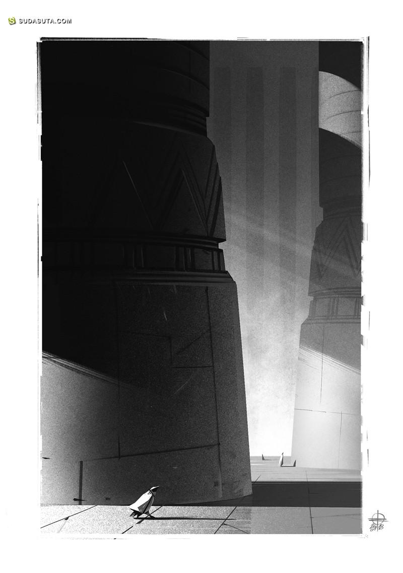 Renaud Roche 书籍插画欣赏