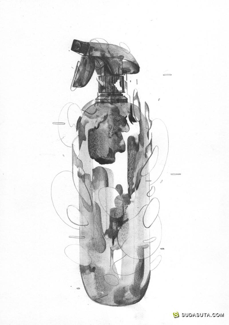 Thomas Cian 手绘抽象插画欣赏