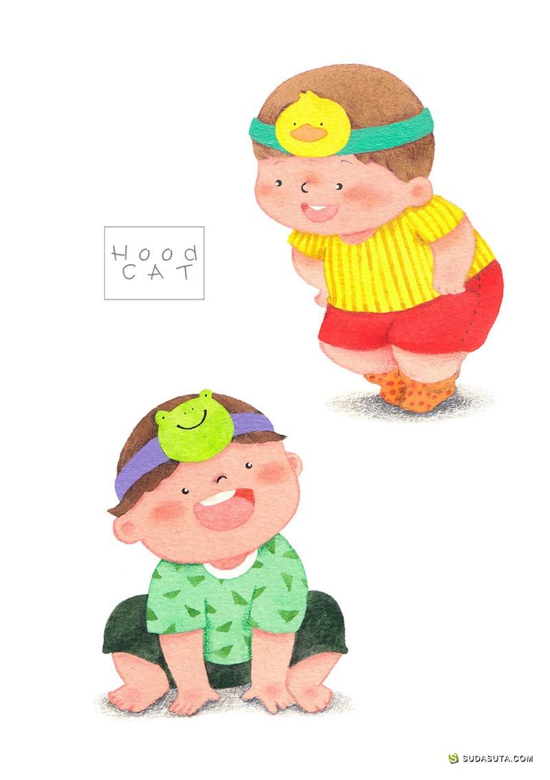 Wendy HE 何晓莹 儿童插画欣赏