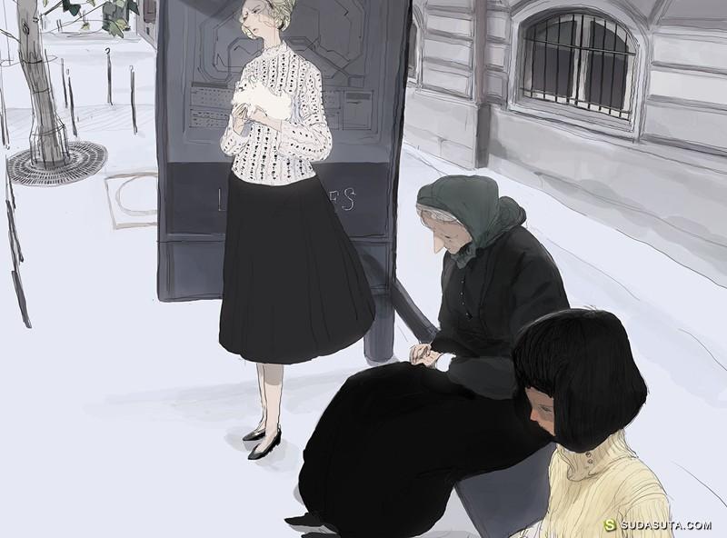 antonio reinhard 插画作品欣赏