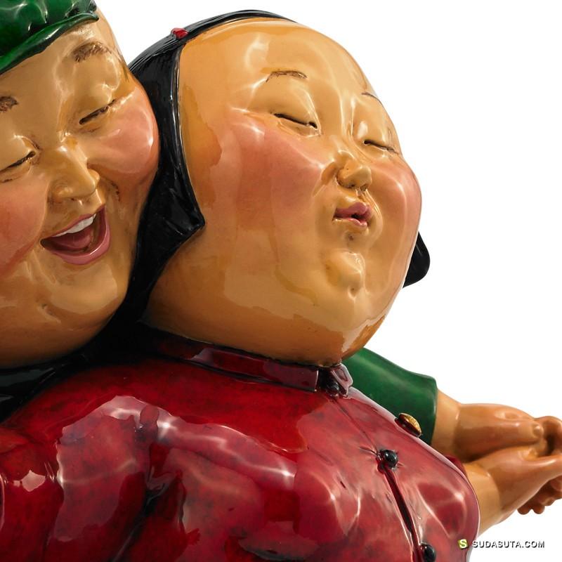 瞿广慈 雕塑作品欣赏