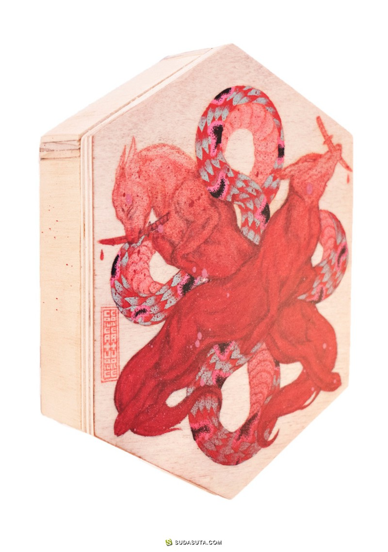 Chanel Tang 和 Ambrose Rehorek 潮流插画欣赏