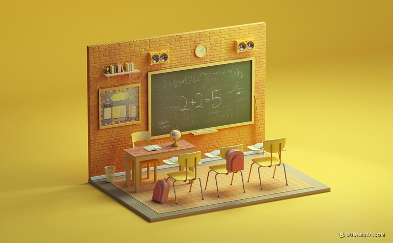GRAZA 3D视觉渲染