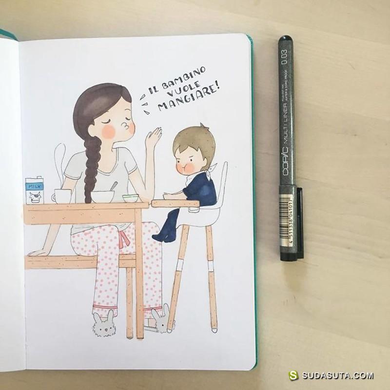 Kara Western 家庭绘本日记