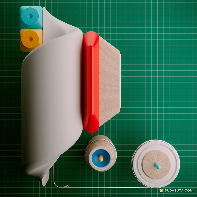 Leonardoworx LWX 3D立体装置设计欣赏