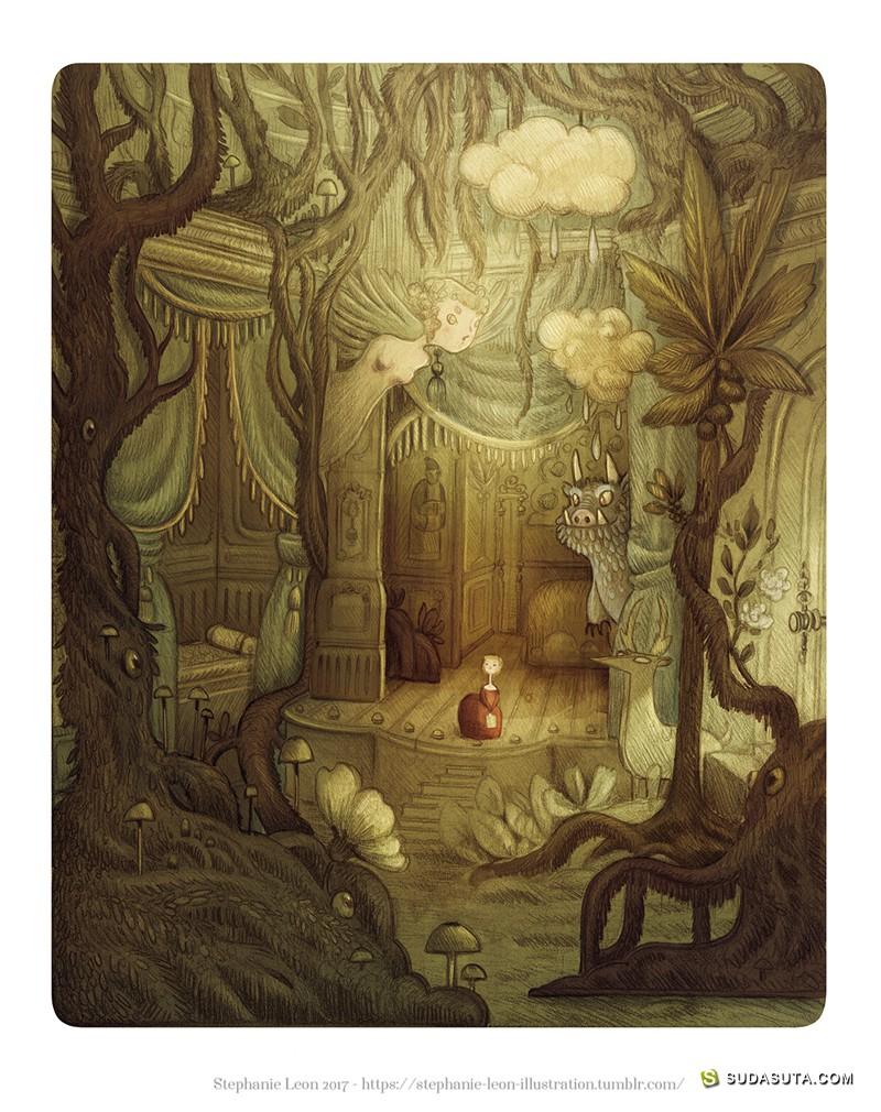 Stephanie LEON 书籍插画欣赏