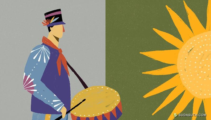 Willian Santiago 装饰插画欣赏