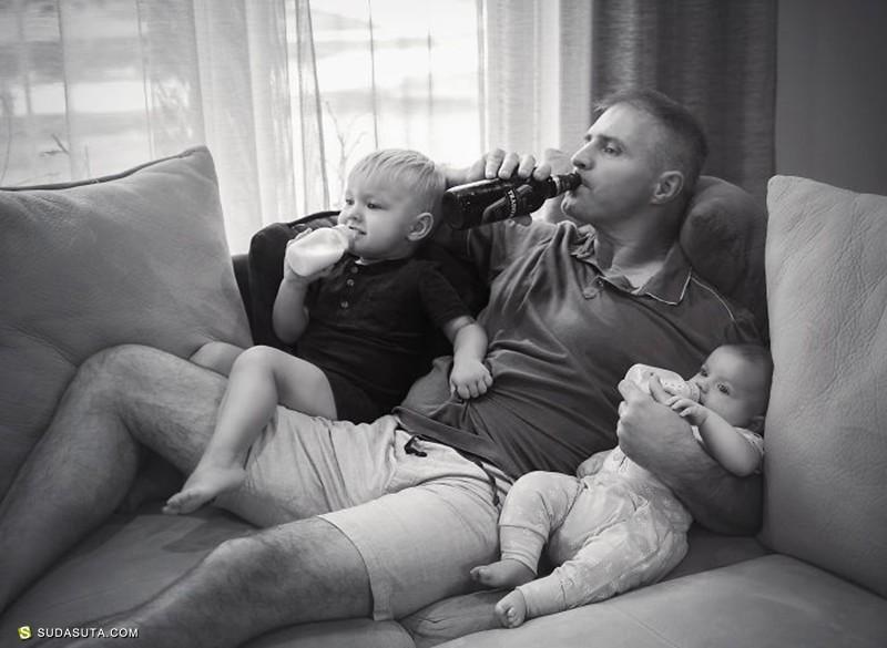 Giedre Gomes 关于不一样的父亲 摄影作品欣赏