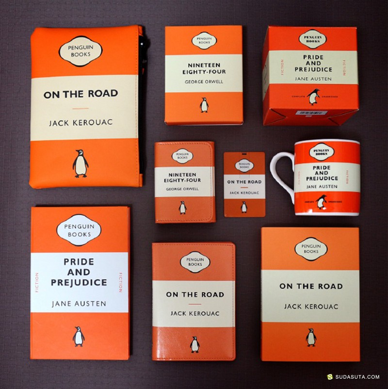 书缘物语 桔黄色 包装设计欣赏