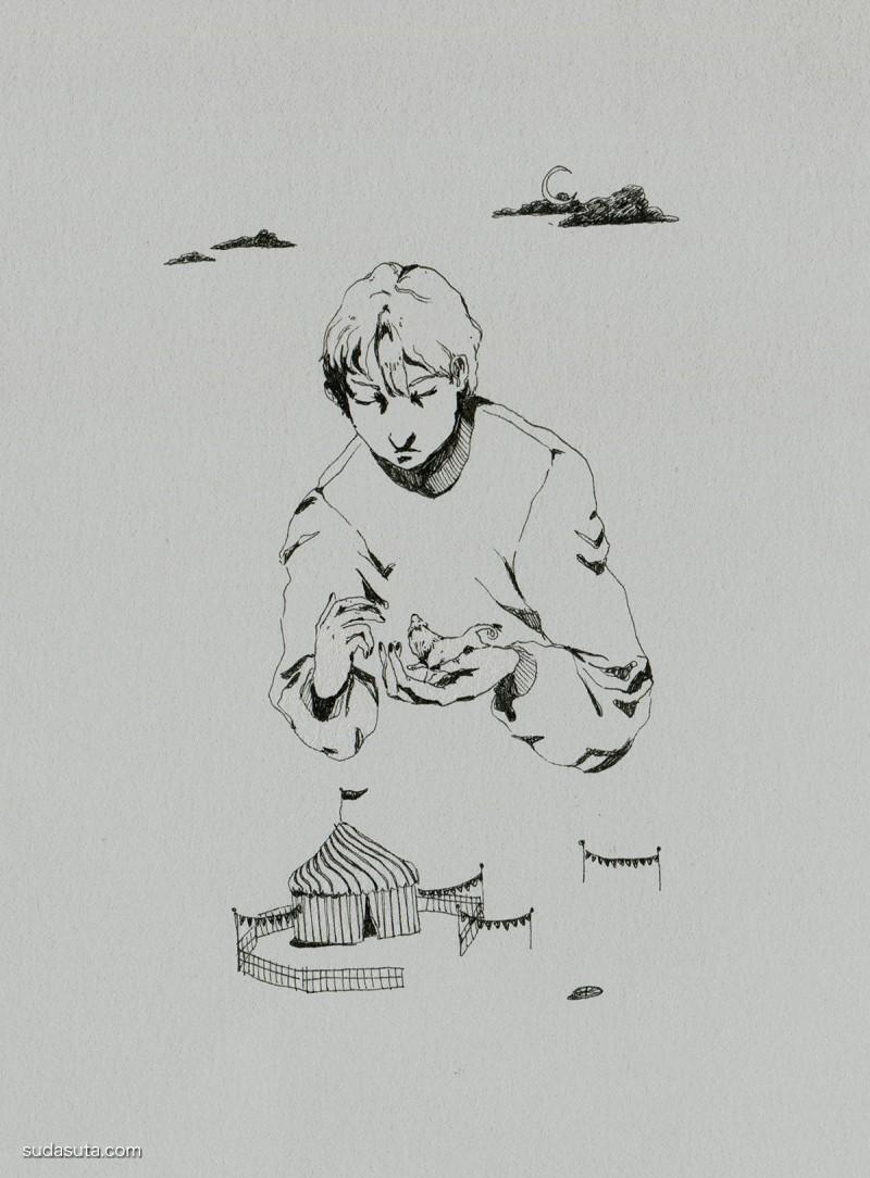 Kima Lenaghan 绘画艺术欣赏