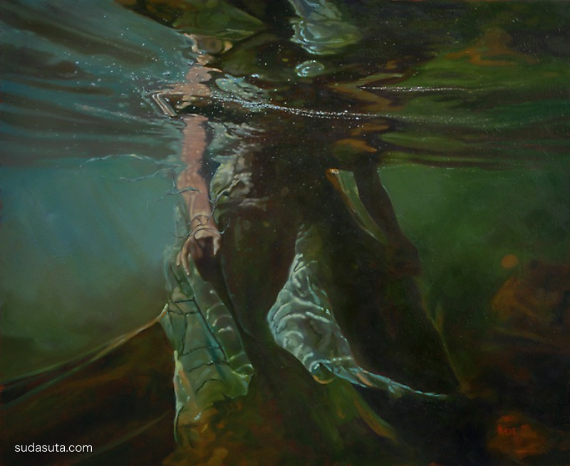 Mark Heine 超现实主义绘画欣赏