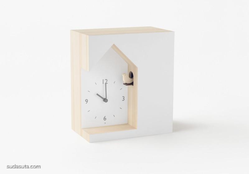 Nendo 极简主义钟表设计欣赏