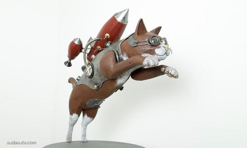 Nozomu Uchida  不一样的机械动物造型设计