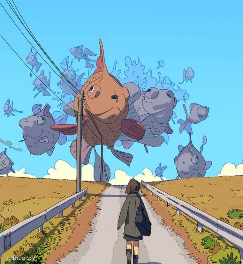 Varguy 龙与传说 卡通插画欣赏