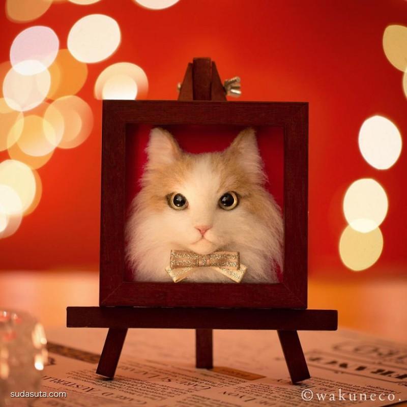Wakuneco 不一样的猫咪肖像