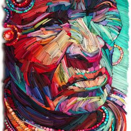 Yulia Brodskaya 人像剪纸艺术欣赏