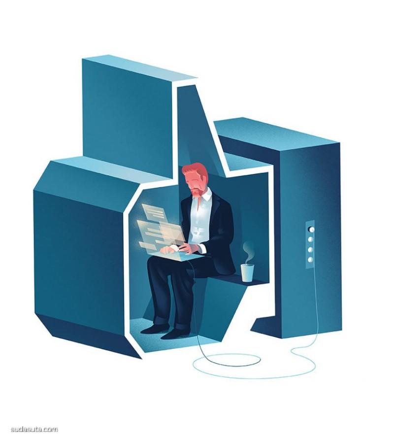 Björn Öberg 书籍插画欣赏