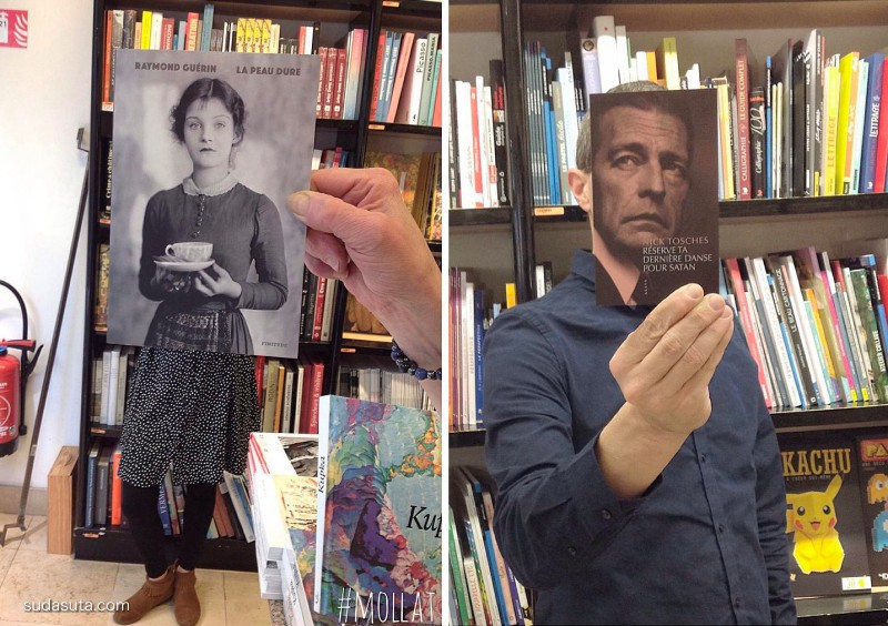 Librairie Mollat 有趣的图书馆